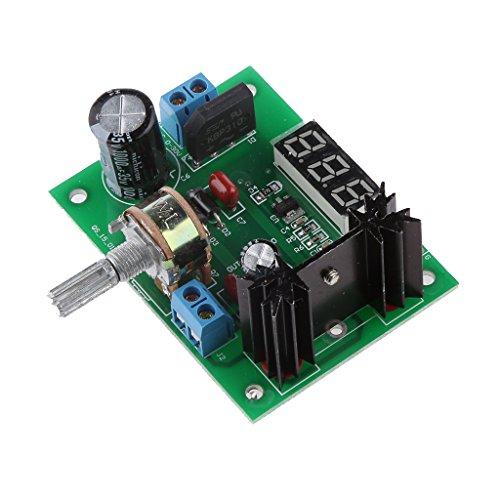LM317 Regulador de Voltaje Ajustable Renuncia Pantalla del Módulo de Fuente de...